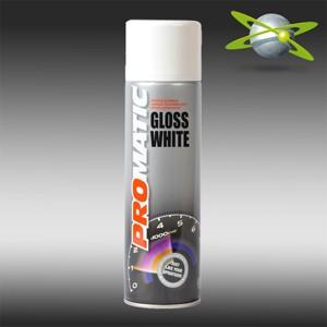 PROMATIC GLOSS valge aerosool 500ml