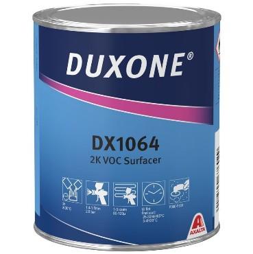 DX1064 2K VOC Täitekrunt helehall 1L (4:1 DX1024)