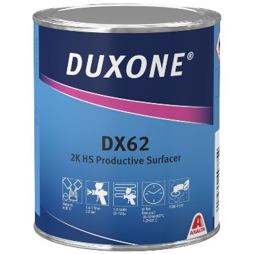 DX62 2K Täitekrunt tumehall 1L(3:1 DX25)