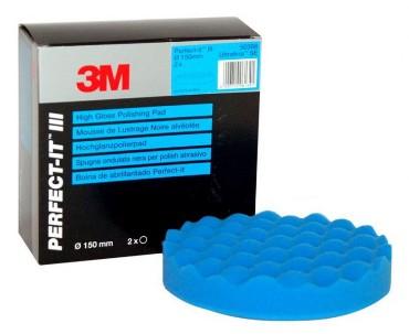 3M Perfect-it III poleerpadi sinine 152 mm