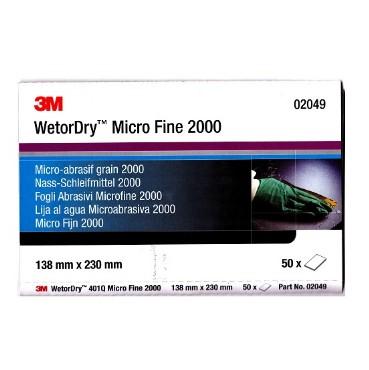 3M 02049 Vesipaber Micro Fine 2000