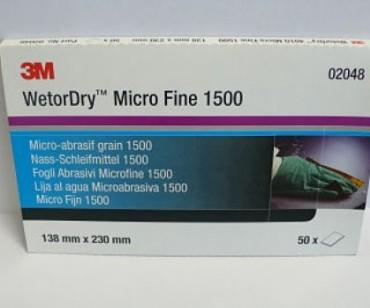 3M 02048 Vesipaber Micro Fine 1500