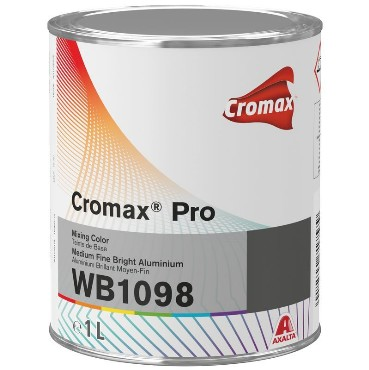 Cromax® Pro Medium Fine Bright Aluminium 1L