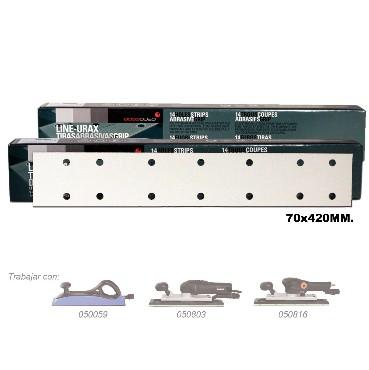 URAX Lihvpaber P80 70x420mm 14 auguga