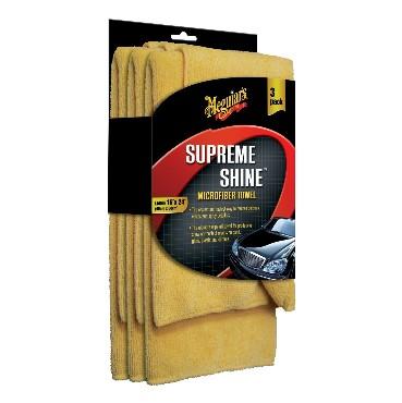Meguiars X2020 Supreme Shine® mikrokiudlapp 3-pakk