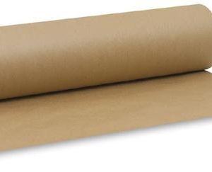 Kattepaber pruun 1m x 300m 40 gsm