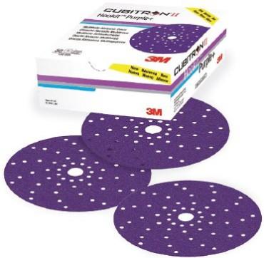 3M 51424 734U Purple + Multihole Lihvketas P240 150mm