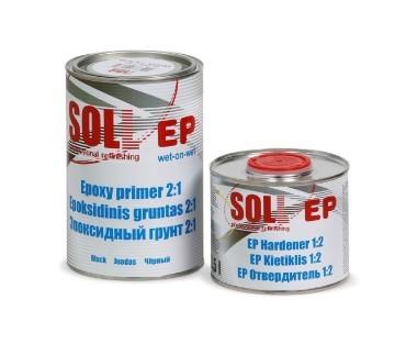 Soll epoksiidkrunt must+kõvendi 2:1 1,5L