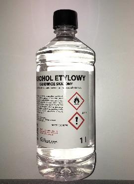 Etüülalkohol pindade desifitseerimiseks 1L