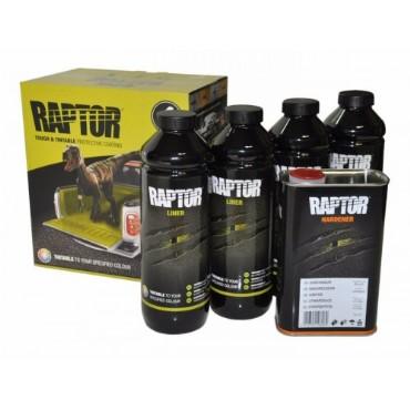 Raptor + (S20 kõvendi) TOONITAV 4x750ml+1L