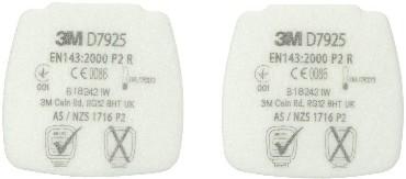 3M SecureClick P2R vahetatav tolmufilter (4 tk pakis)